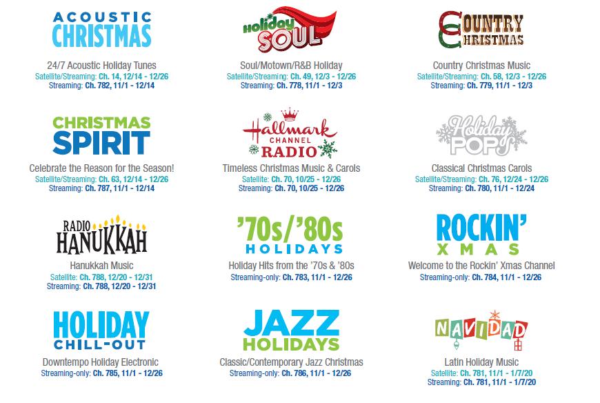 Siriusxm Christmas Channels List 2020 Holiday Traditions (@SiriusXMHoliday) | Twitter