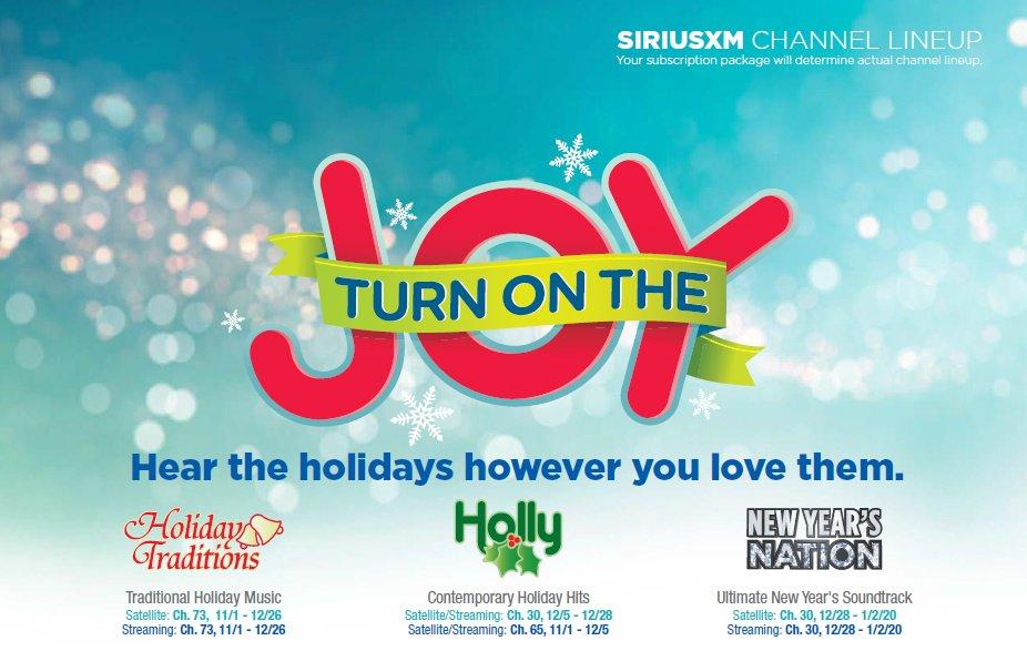 Holiday Traditions Siriusxmholiday