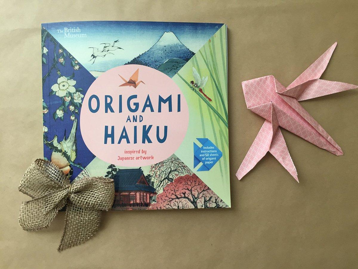 Origami and Haiku Inspired by Japanese Artwork