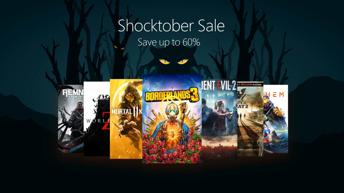 Heavy on the treats, hold the tricks. Save big on digital downloads from now until the end of the month!Check it out: https://xbx.lv/32QMm7O