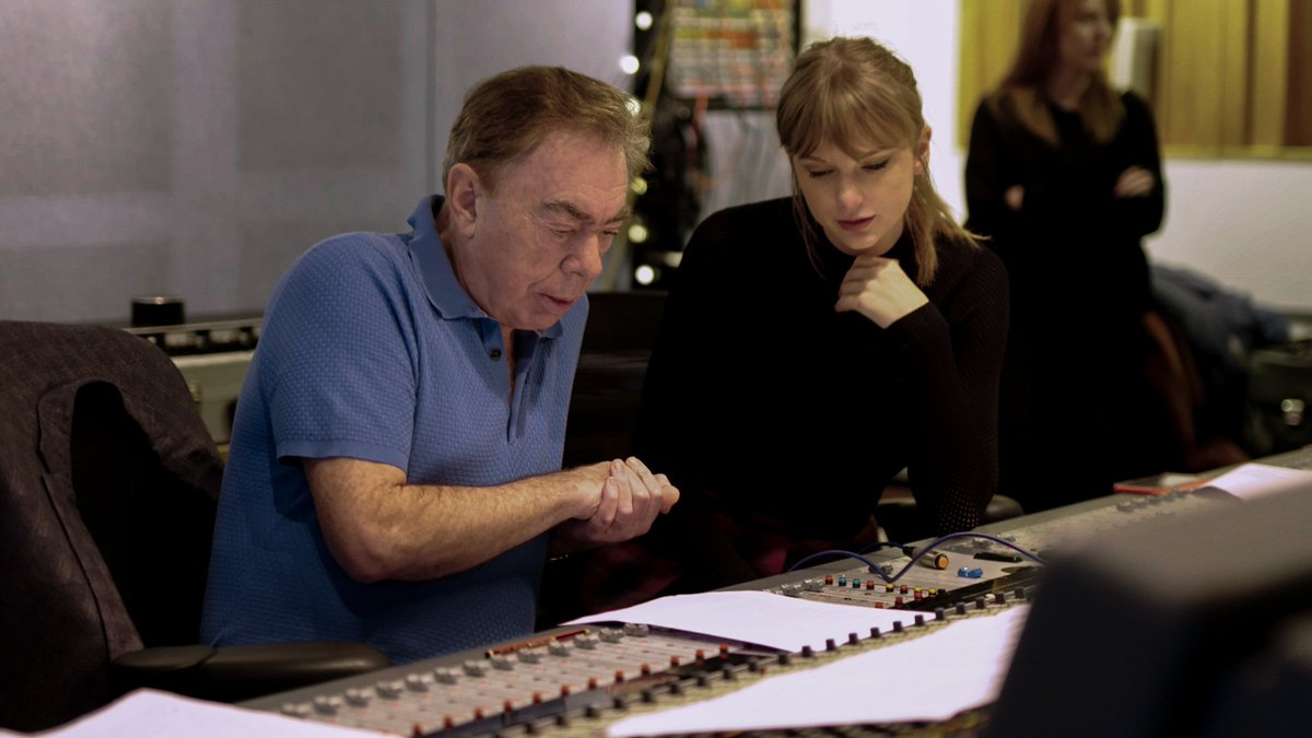 .@taylorswift13 and @officialalw have written a new song for #CatsMovie. Watch how it came together.