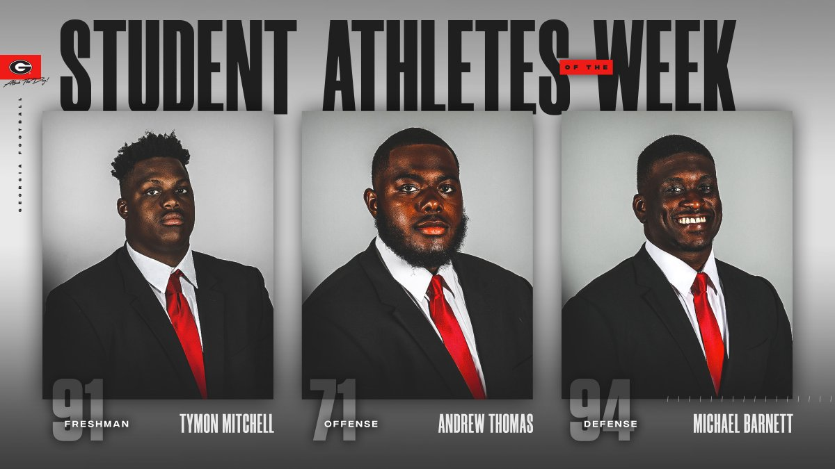 Congratulations to our student-athletes of the week!