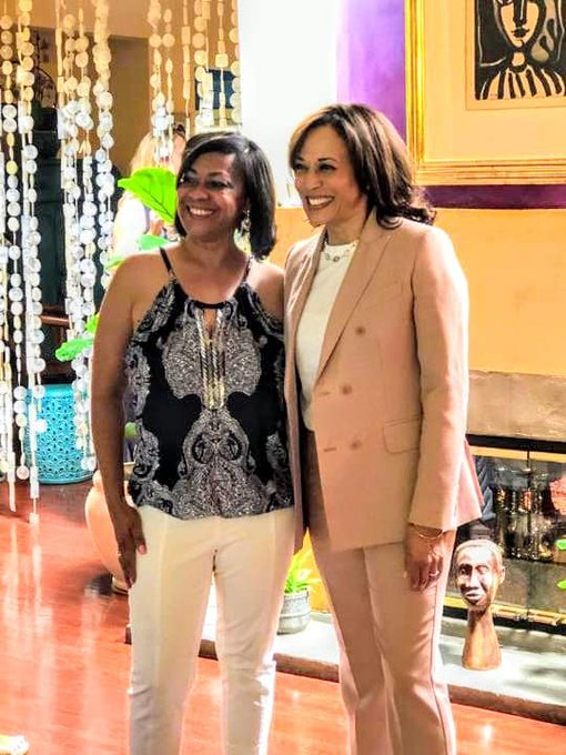 Happy birthday to Presidential Candidate Ms. Kamala Harris.  Good luck today - see you soon!