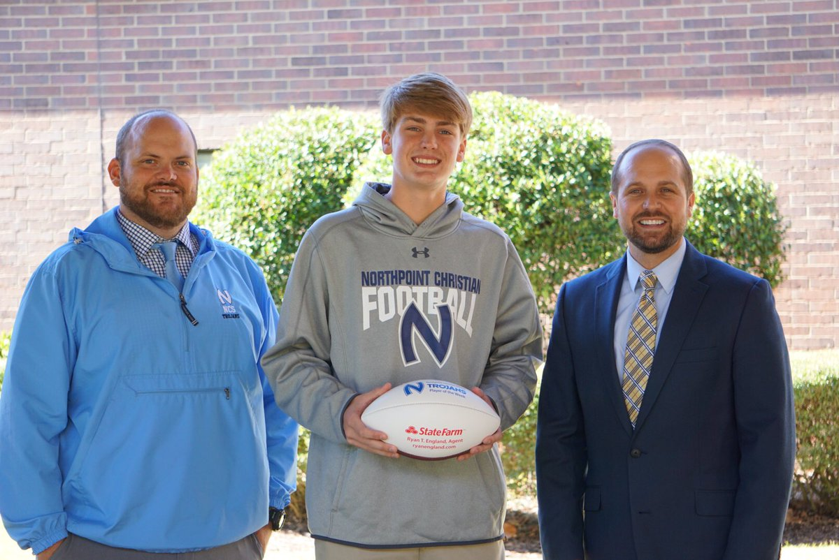 Northpoint Sports On Twitter Congratulations To Hudson Brown Who Is Ncs S Week 8 Player Of The Week Sponsored By Ryan England State Farm Against Facs Brown Was 17 28 For 305 Passing Yards With