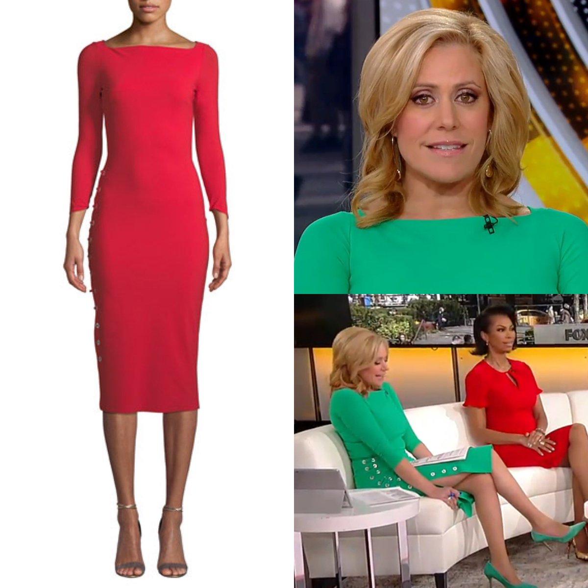 Melissa Francis (@MelissaAFrancis) wore a Chiara Boni 'Prudencia' Side Lace Up Sheath dress today on #Outnumbered - the dress is on sale in red at Bergdorf Goodman.  #foxnews #foxnewsfashion pic.twitter.com/sJtFBbcFFK