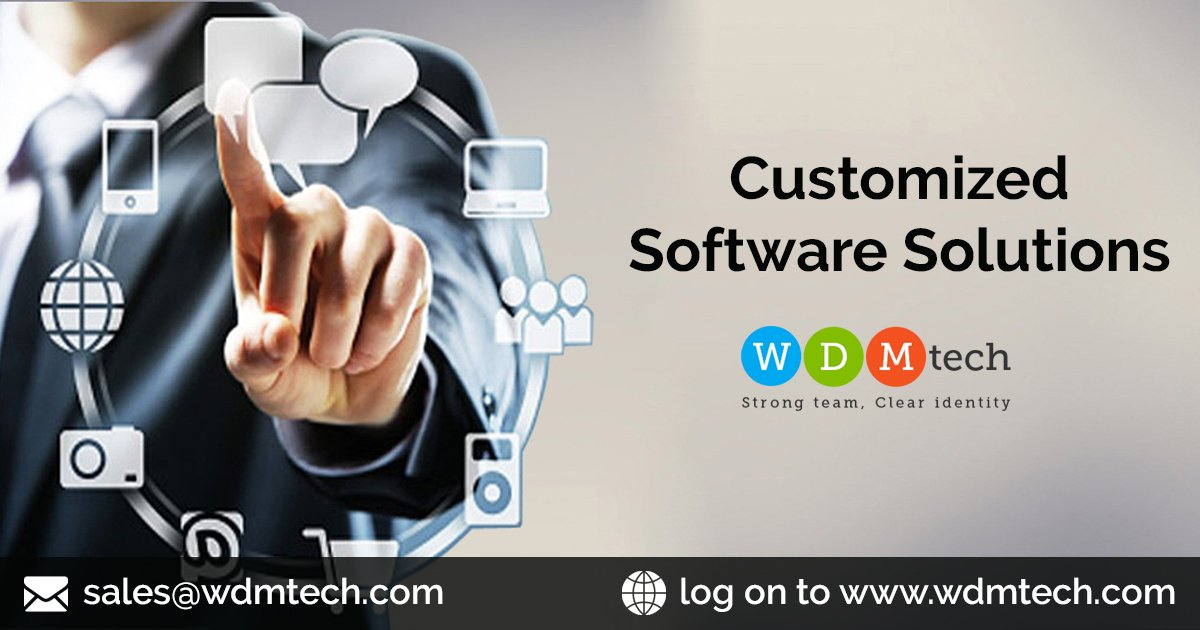 https://www. wdmtech.com/customized-sof tware-solutions  …  WDMtech builds customized, adaptable solutions for the specific problems your business faces. #CMSCustomization #WebDevelopment #DrupalDevelopment #JoomlaWebsiteDevelopment #WebsiteApplicationDevelopment #JoomlaDevelopment #WordpressDevelopmentServices<br>http://pic.twitter.com/sPf0txRmob