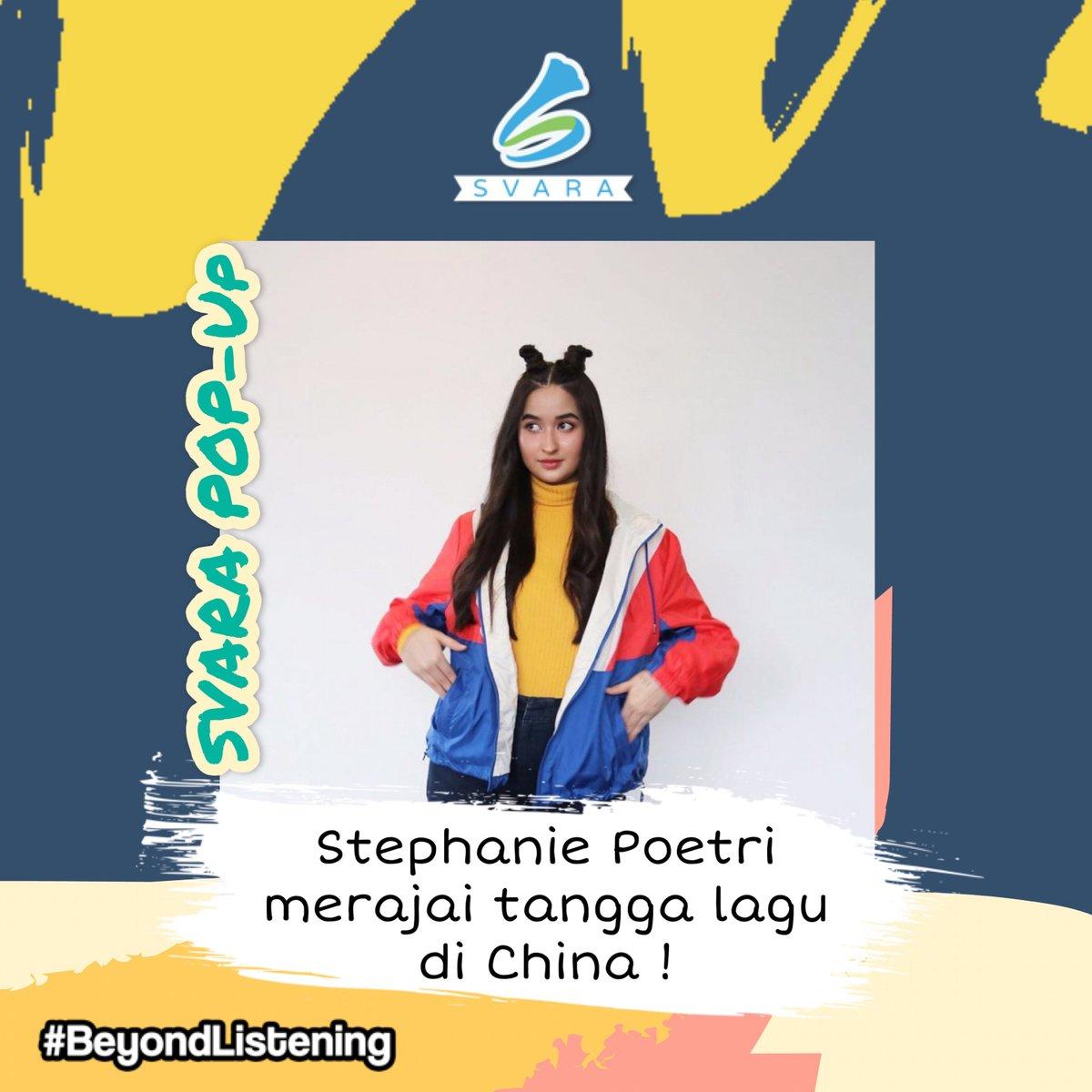 Berkolaborasi bersama rapper asal Hongkong 'Jackson Wang' membawa berkah bagi Stephanie Poetri. Lagu 'I Love You 3000 II' sudah didengarkan lebih dari 53 juta kali di dunia dan video musiknya di Youtube sudah disaksikan lebih dari 6,2 juta kali, loh! .  #beyondlistening pic.twitter.com/YdIaWTNDYr