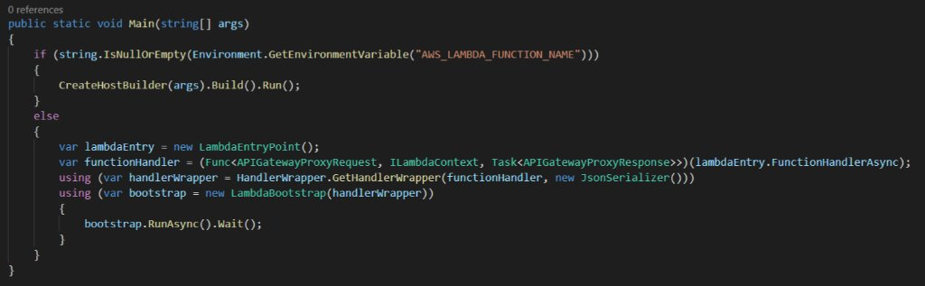 Learn how to use .NET Core 3.0 with Lambda's Custom Runtimes amzn.to/2Jl1Tol #dotnetcore