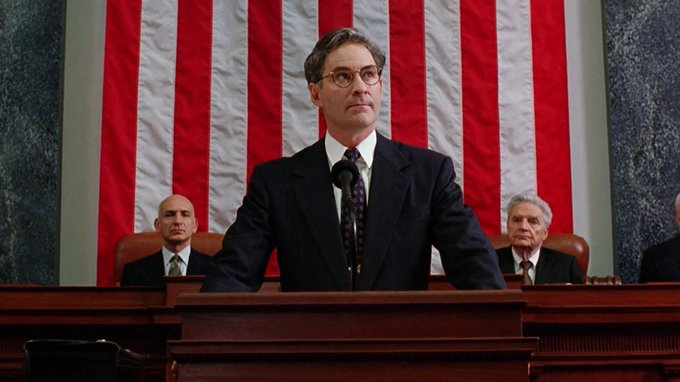 Happy birthday Kevin Kline, just perfect to play a character à la Capra in Dave.