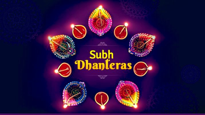 May The Blessings Of Lord Kuber And Lord Dhanvantri Shower On You Always. Happy #Dhanteras , #धनतेरस की शुभकामनाएँ !