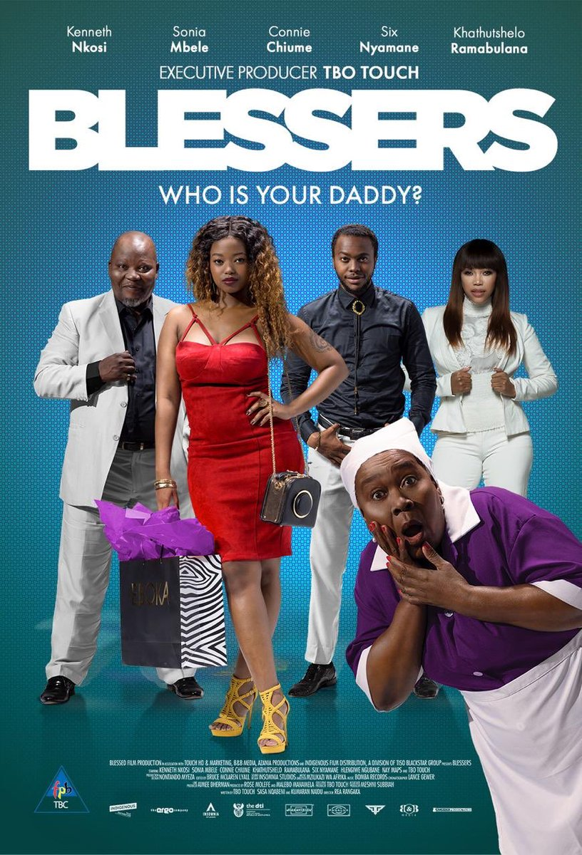 The 1st ever movie to be produced by my main man, Brother @iamtbotouch. The movie created 120 jobs and today is in 48Cinemas, let's go & support one of our own. We should learn to entertain ourselves. #Blessers