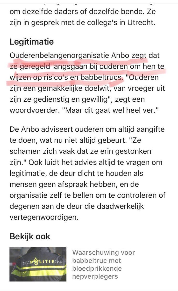 Hahaha...dat wordt nog wat straks met al die Sinterklazen en Kerstmannen aan de deur. Of zoals Koot en Bie je tuin effe winterklaar komen maken: https://t.co/hRYDRnIGTK Wie kan je nog vertrouwen...? Ik pleit voor irisherkenning! #Rotterdam #Sinterklaas #eentegeneenzaamheid