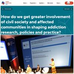 Image for the Tweet beginning: Final session at #LxAddictions19 is