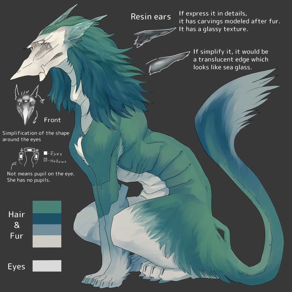 Commission Result!  T-Stalker reDesign Provided in Collabo with @Coju_Vilous  Please enjoy the read down below and +fav⭐️ http://furaffinity.net/view/33556018/  Description on the FA entry mentions small tips about Talyxians unique biology and T-Stalker design types~!  #Vilous #Talyxian
