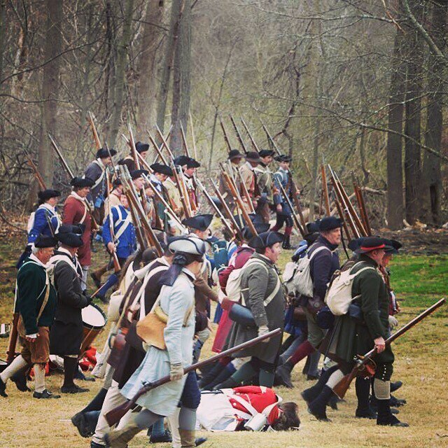 If the enemy wishes to start the engagement your mission should be to finish the battle where the enemy started. #revolutionarywar #reenactment #patriots #newengland https://t.co/kJ6cdbtyEH