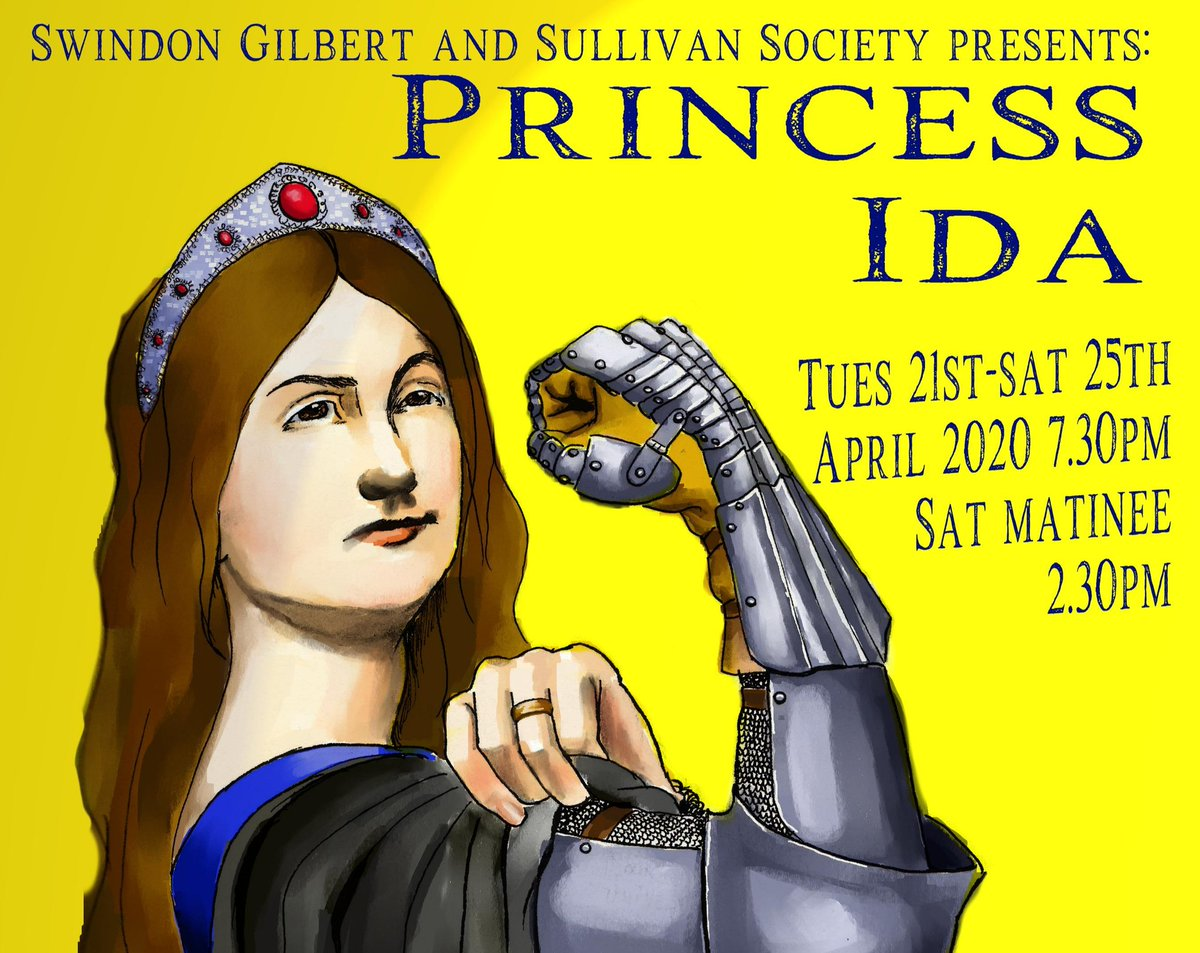 New poster for our next show. By Julia Fryer.