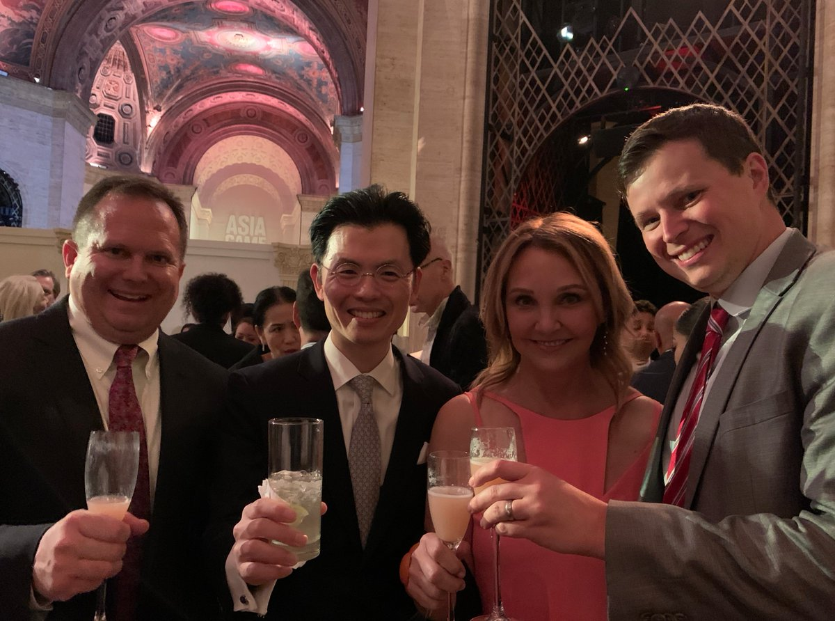 At Asia Society #GameChanger Gala in NY  Celebrated @drjwalk being appointed @japansociety President with @AsiaSociety President @JosetteSheeran and @OISTja Sr. Advisor @JanesDaishi.  @AsiaSociety, @japansociety, and @I_House_Japan all share strong ties to John D. Rockefeller 3rd