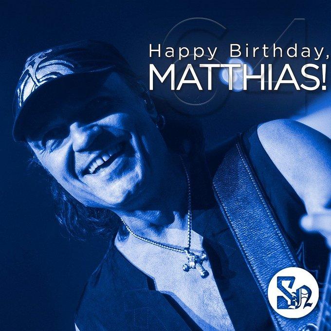 Happy Birthday, MATTHIAS JABS!