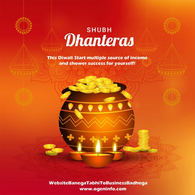This Diwali, Start your multiple source of income and create a future where you can celebrate your each day like Diwali! Shubh Dhanteras! #HappyDhanteras #DiwaliCelebration #DiwaliWishes #ProsporousBusiness #ProsporousLife #WebsiteBanegaTabhiToBusinessBadhega https://t.co/qiTCuEuSID