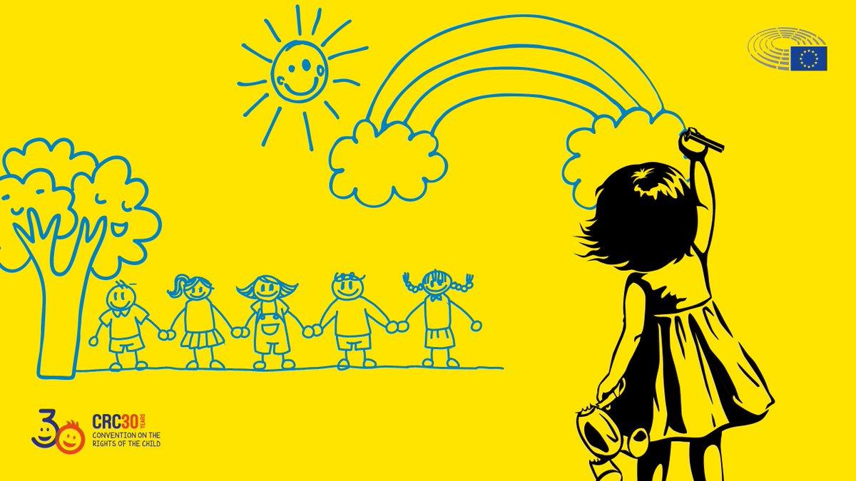 Le 20 novembre, le Parlement européen organisera une conférence pour célébrer le 30ème anniversaire de la Convention relative aux droits de lenfant. #EUforChildren Apprenez-en plus → eptwitter.eu/qkCt