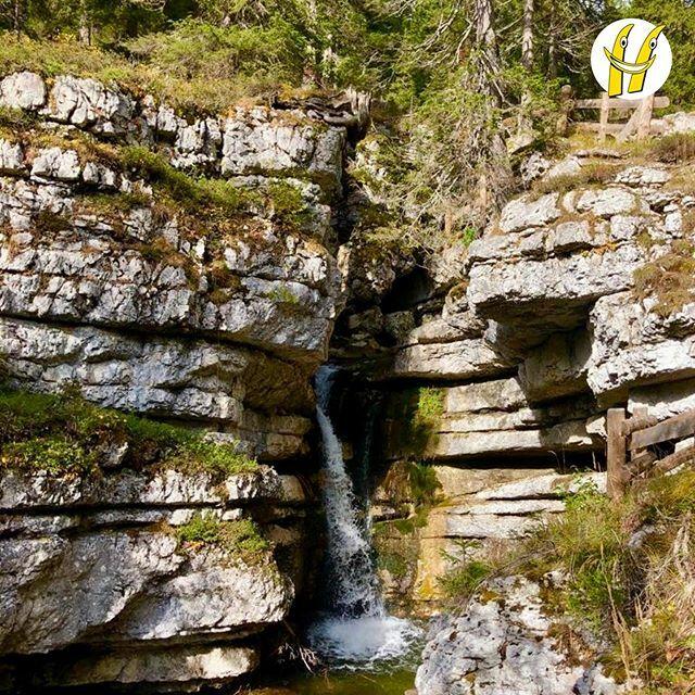Le cascate di Ra Stua, versione autunnale. ⛰