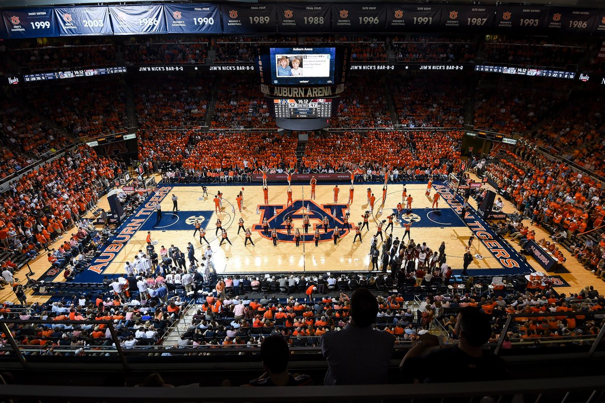 Auburn Basketball On Twitter One Week From Today We Will