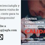 Image for the Tweet beginning: ¡Inicia tu #ExperienciaAgfa!