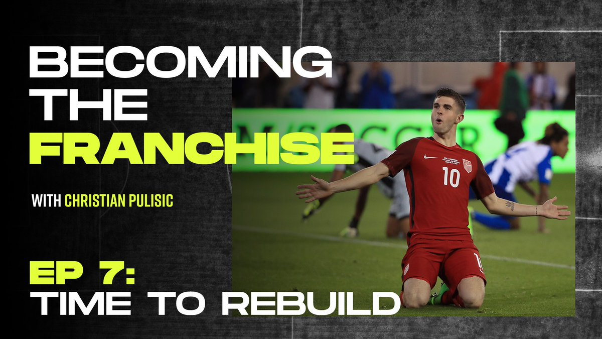 I just picture myself with the US crest on, my family in the stands and thousands of Americans watching me at the World Cup, thats what inspires me the most. Theres only one end goal for @cpulisic_10. #BecomingTheFranchise 📹: playerstribu.ne/ChristianPulis…