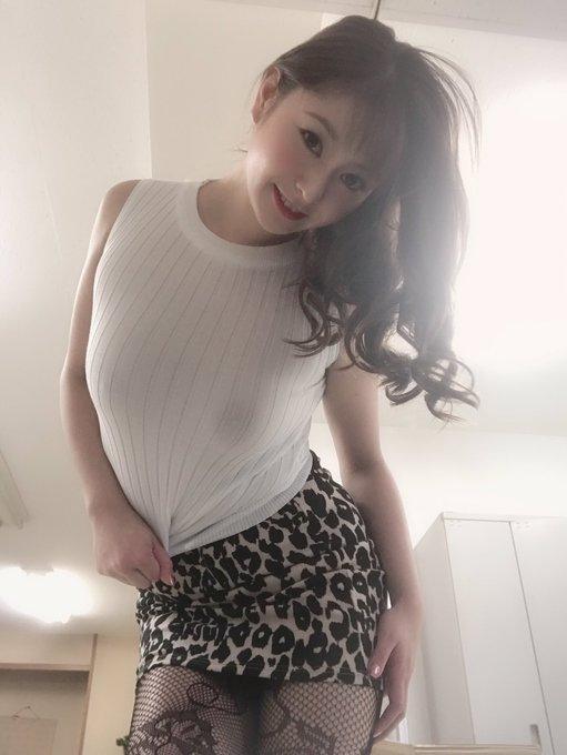 AV女優葵百合香のTwitter自撮りエロ画像51