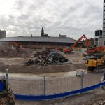 A changing landscape now the demolition of the old indoor market and multi-storey car park is almost complete @prestoncouncil @prestonmarkets @Bradleydemo