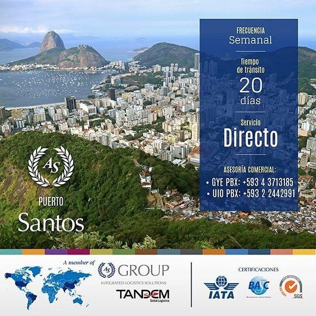 Requiere traer Carga vía marítima desde Brasil? Tenemos un servicio directo semanal desde el puerto de Santos. Consulta por nuestras tarifas.! #Logistics#asgroup#export#import#business#AsiaShipping#Transporte#Logística#Transport#WeAreAsiaShipping… https://ift.tt/2MK4OJxpic.twitter.com/EPkog6TT9k