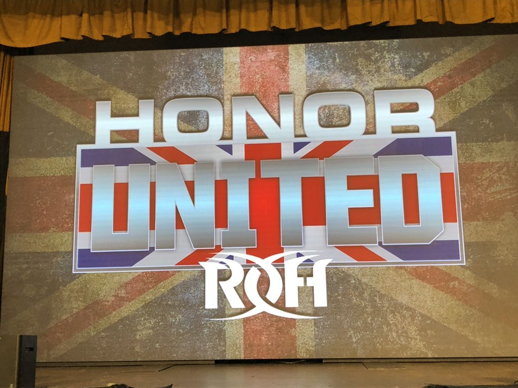 ROH Honor United: London Results: RUSH And Jeff Cobb Vs. Marty Scurll And Flip Gordon