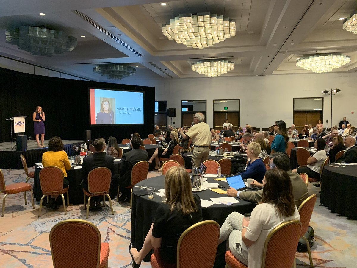 Arizonans are tired of high out-of-pocket health care costs—and I can understand why. Spoke about finding solutions, especially in lowering prescription drug costs, at the AZ Hospital and Healthcare Association Conference.
