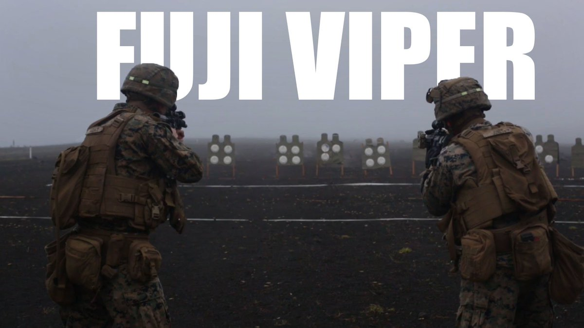 Attack this week head-on with Marines from exercise Fuji Viper 20-1. #MondayMotivation