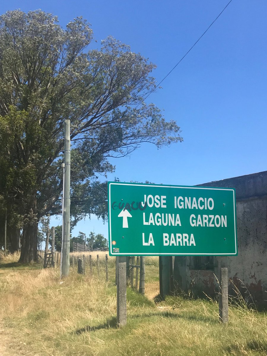 Yes, every time we see this sign, our heart beats and we start listening the waves  #BestinTravel #lonelyplanet #uruguay #joseignacio #lagunagarzon #labarra https://t.co/ZjNARQ6cTI