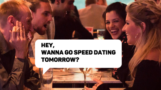 Speed dating i Oxford UK