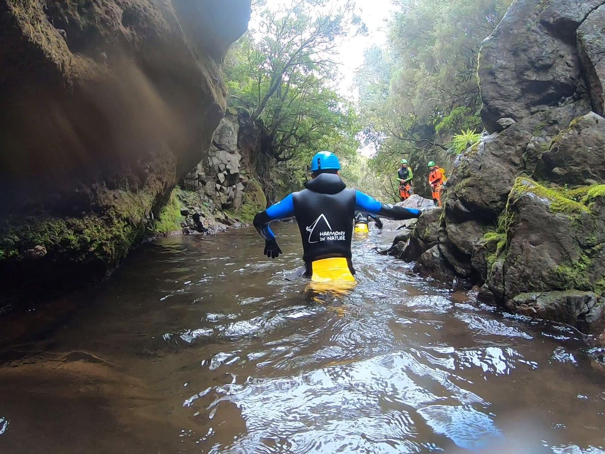 Madeira Day 4. Canyoning