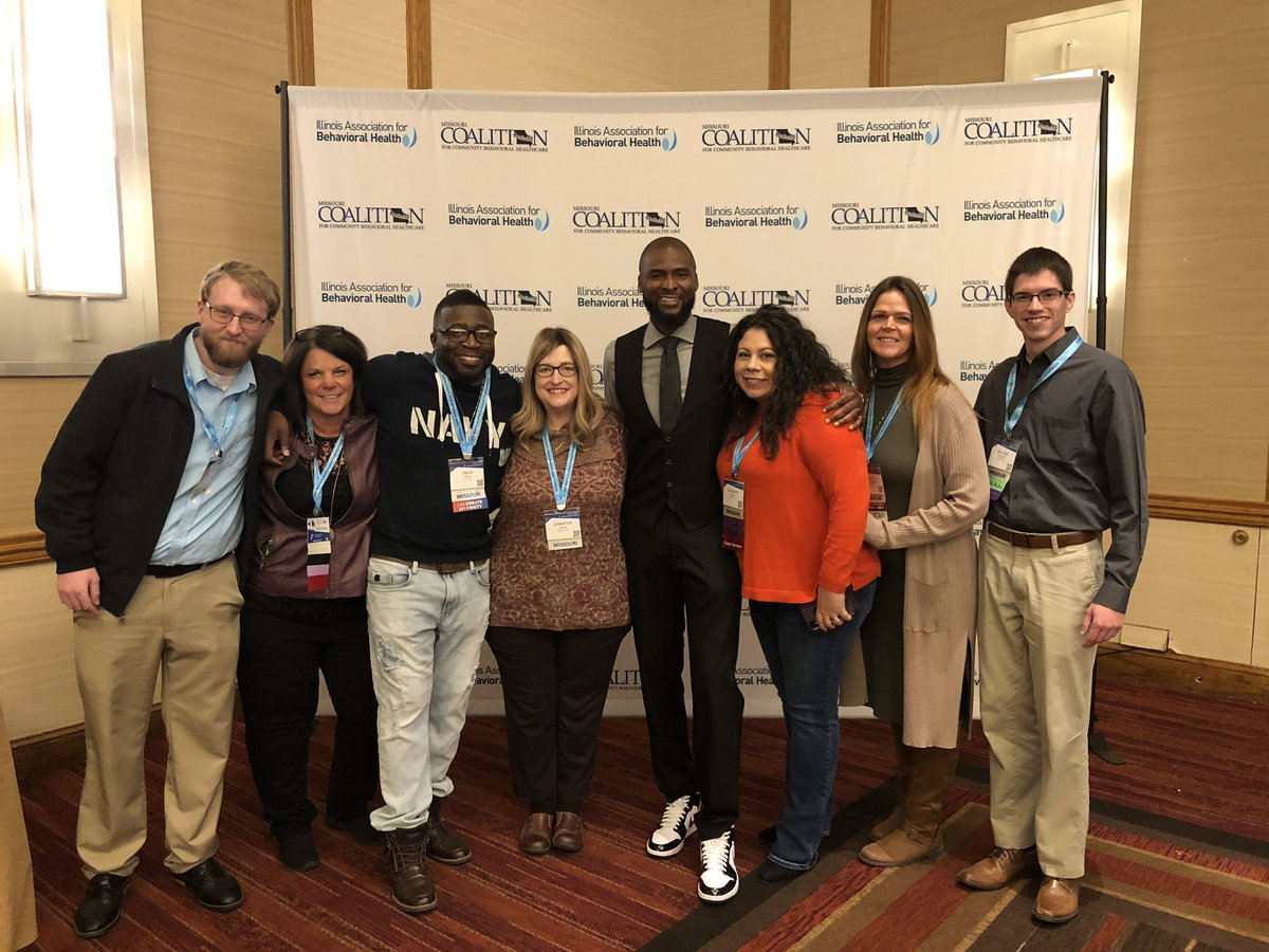 """Thanks to former NBA player @Keyon_Dooling for his mental health advocacy. You inspired our @rediscovermh team today #MOILBHcon19  """"The biggest room in your life is the room for improvement."""" - K. Dooling"""