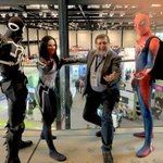 Image for the Tweet beginning: RootsTech meets ComicCon: when I
