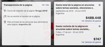 En plena veda electoral, un sitio difunde contenidos críticos del oficialismo y los promociona en redes
