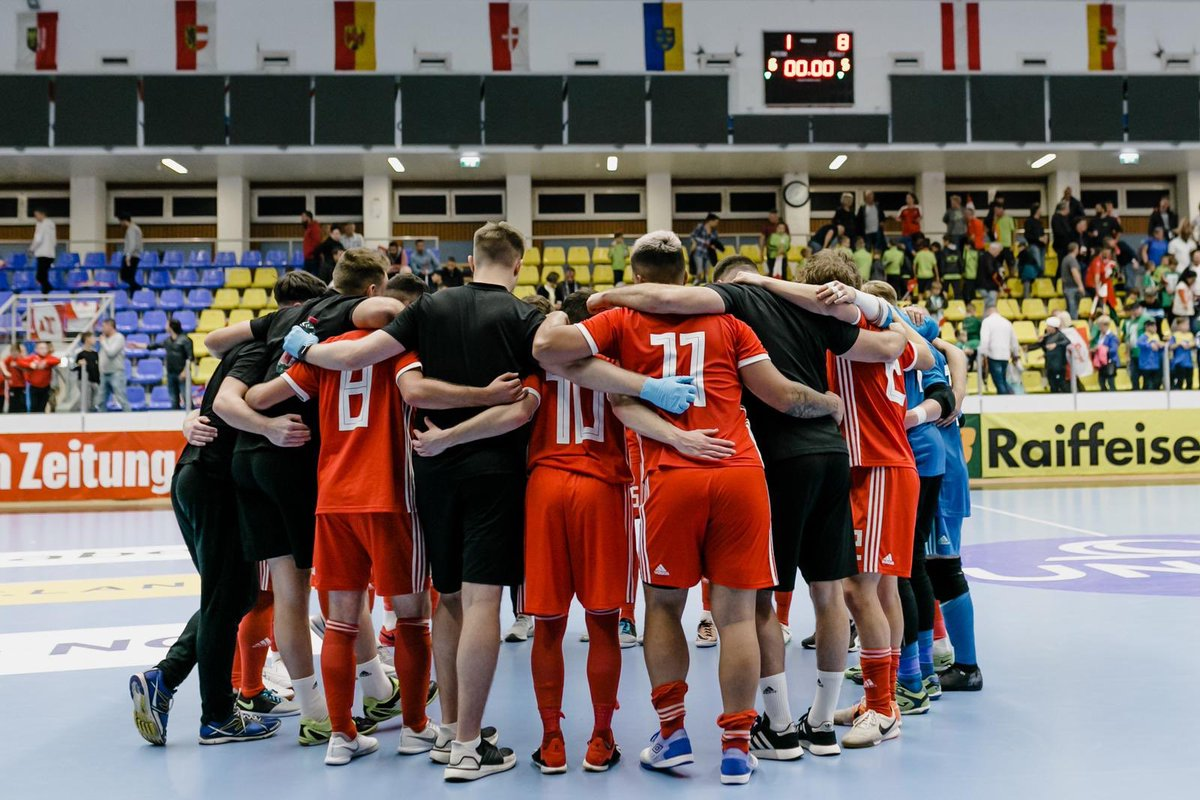🇦🇹 1 - 8 🏴󠁧󠁢󠁷󠁬󠁳󠁿 | SGÔR TERFYNOL #Cymru National Futsal side dominate in an impressive win against Austria in the International Friendly. 💪The two sides meet again this Sunday, KO: 12.00. #TogetherStronger