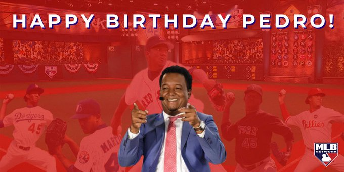 Happy birthday to the one and only, Pedro Martinez!