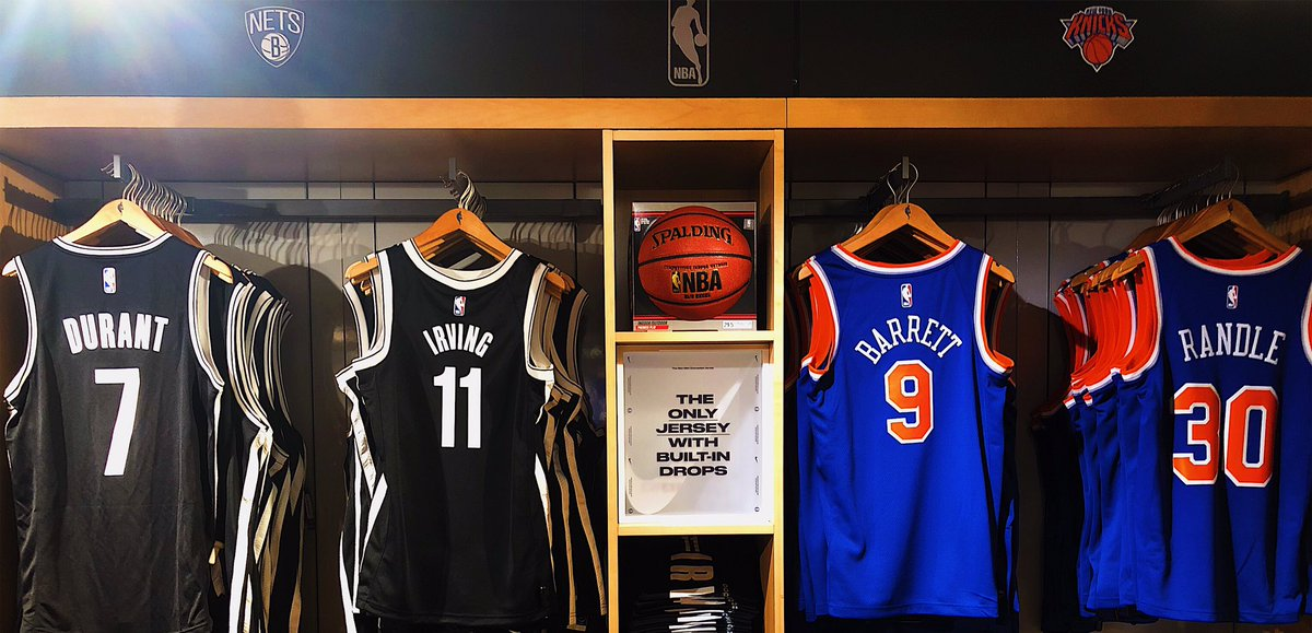 Gear up for the battle of the boroughs tonight @NBASTORE NYC!