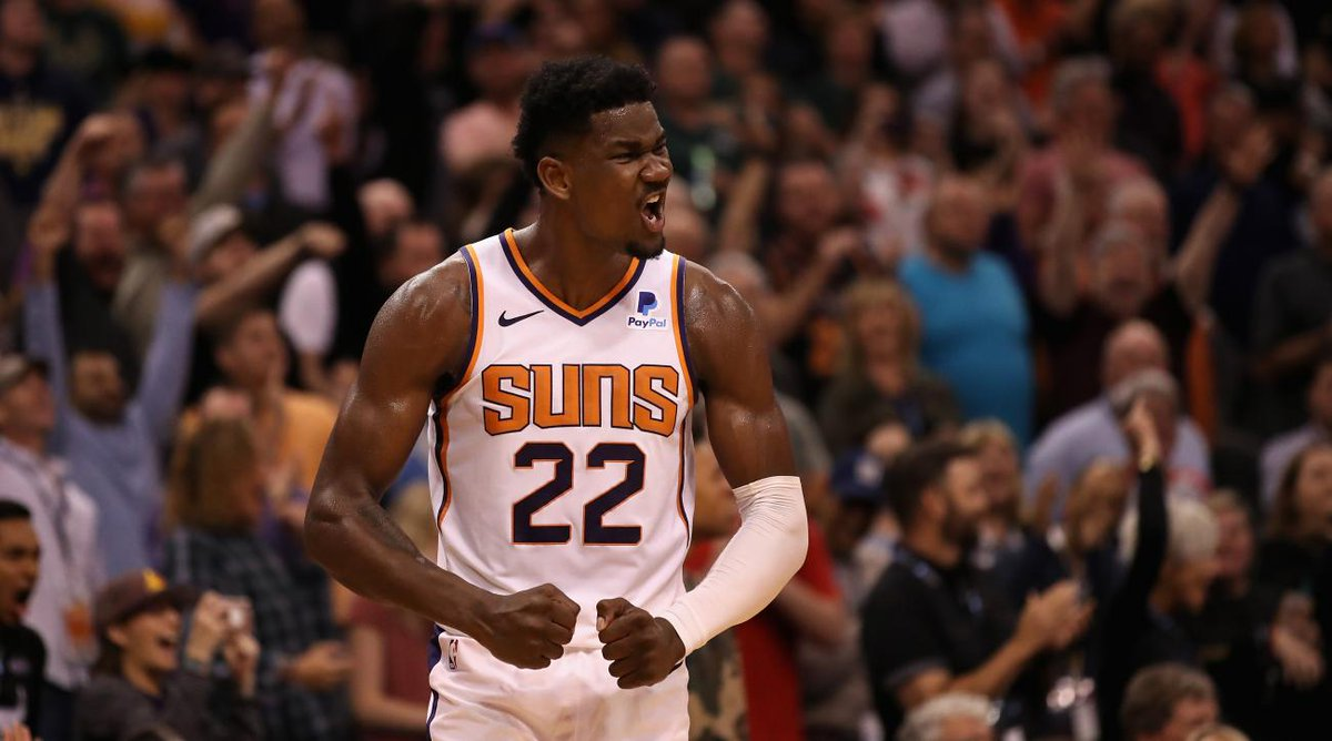 Deandre Ayton is suspended 25 games for testing positive for a diuretic, which athletes have used to mask other substances. He says it was an unintentional error and will appeal. In a new @SInow and @TheCrossover legal story, I detail what he must prove: si.com/nba/2019/10/25…