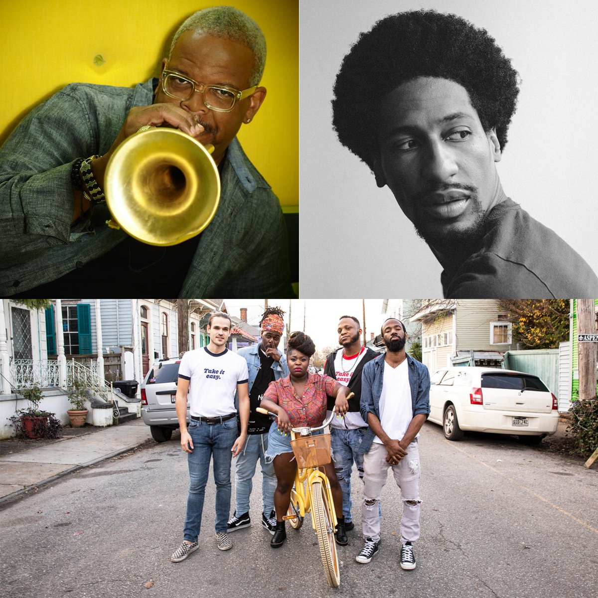"Just announced! @JonBatiste & @TankandDaBangas join @T_Blanchard on Dec. 6 for ""Diaspora Songs,"" an exploration of the extraordinary impact African music has made on our musical landscape, curated by @AngéliqueKidjo as part of her #CHPerspectives series: bit.ly/347z4nz."