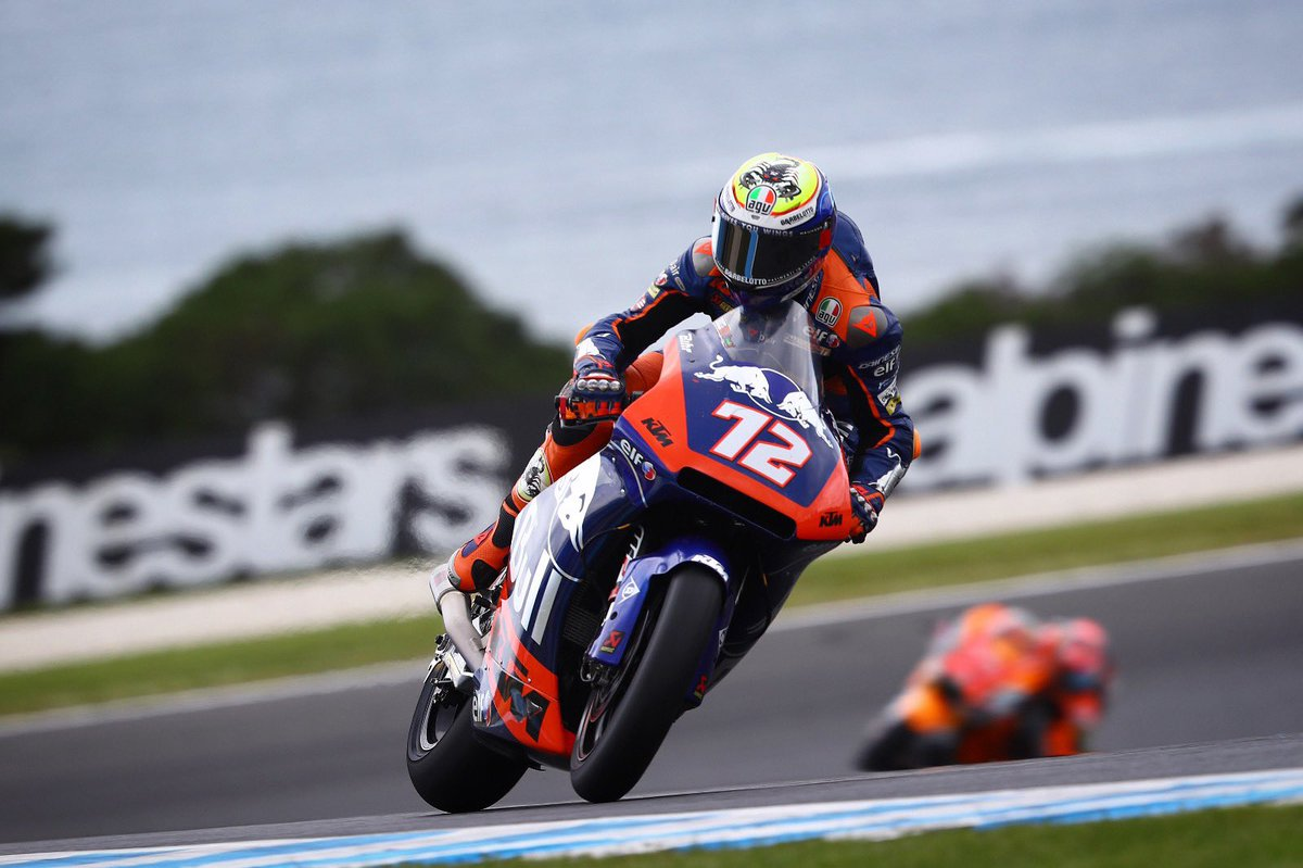 Second fastest this morning and still P5 overall, means direct Q2 ✊🏻🇦🇺 #KTM #Tech3 #MotoGP #Moto2 #Racing #MB72 @MotoGP #AustralianGP