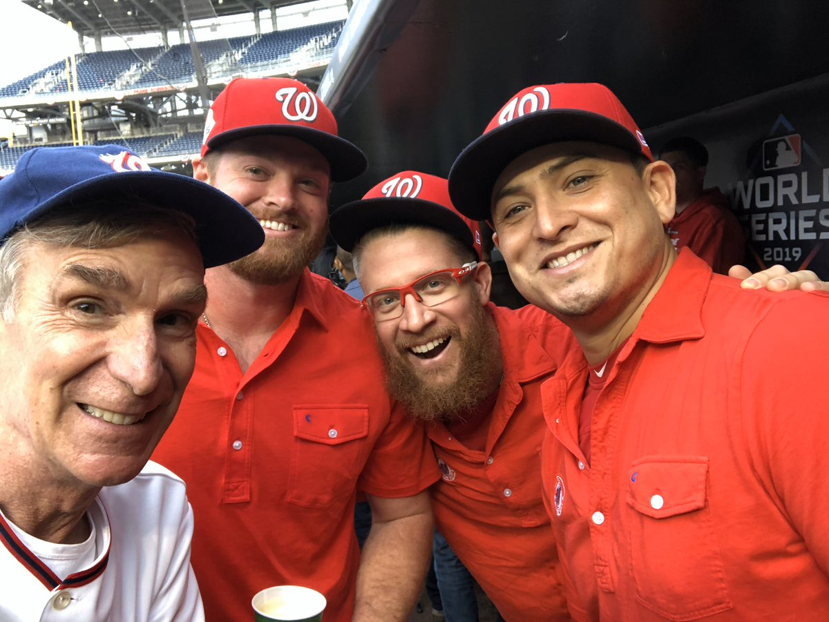 At Nationals Park. Ready for my hometown Nats to win Game 3. Baseball is Science!!!!