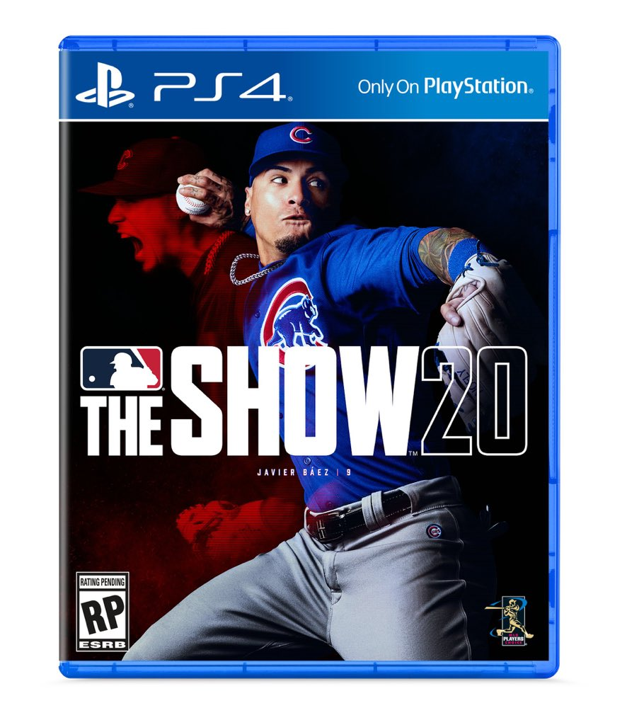 Is being on the cover of @MLBTheShow good, @javy23baez? Haha, congrats man! play.st/TheShow20 #ad