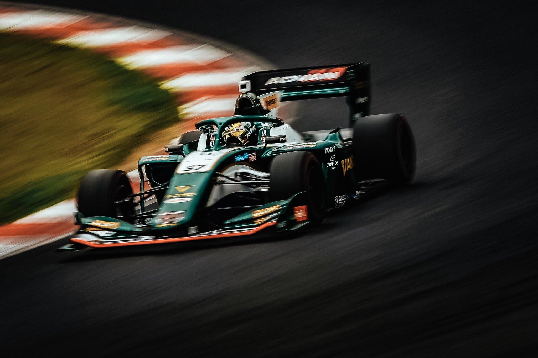 Nick Cassidy Super Formula 2019