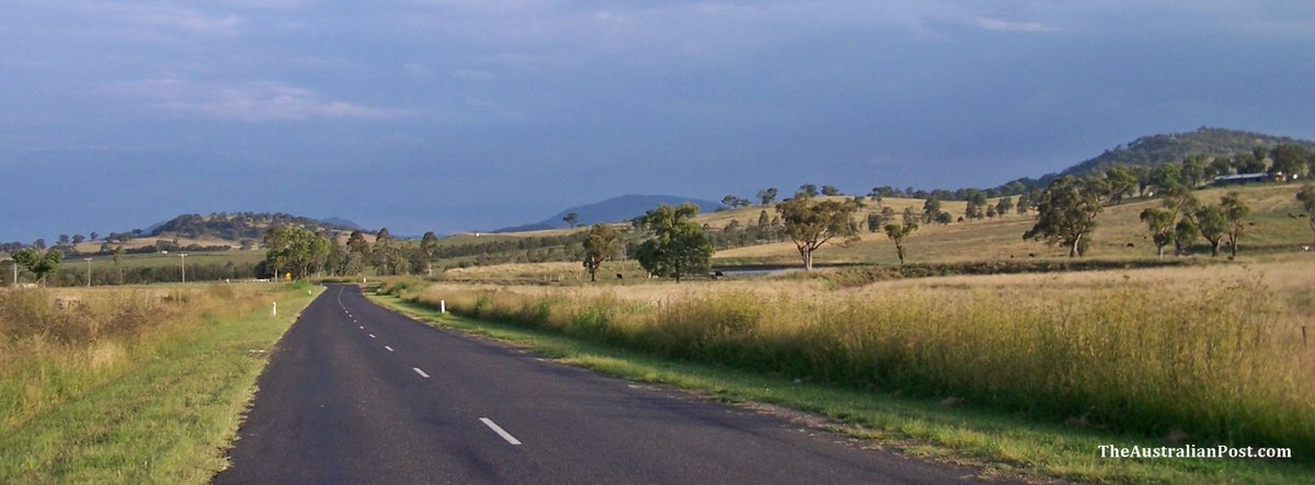 Country Road, New South Wales - TheAustralianPost.com